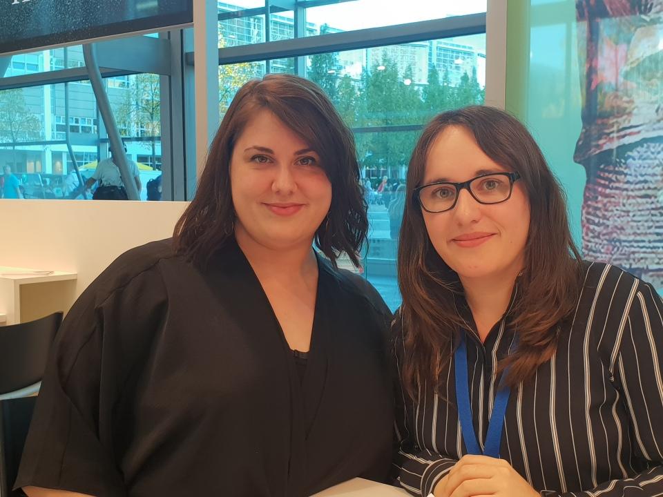 Laura Kneidl und Ich