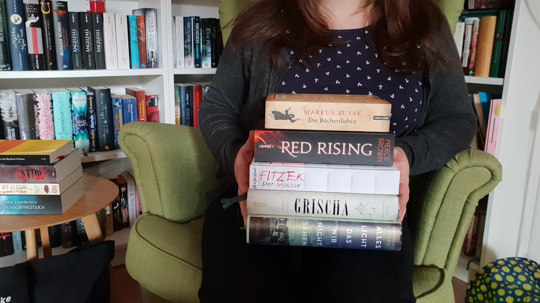 5 Bücher, die ich dieses Jahr lesen möchte